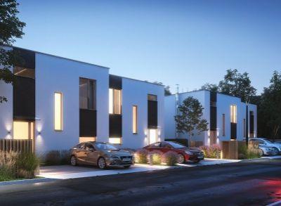 Dvojpodlažný 4-izbové vilové dvojdomy s atypickými prvkami v interiéri