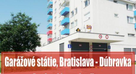 Garážové státie 12 m2 vo výbornej lokalite, Dúbravka - Trhová