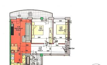 BA II., Ružinov, 3-izbový novo zrekonštruovaný byt na rohu Trnavskej cesty a Tomášikovej ulice.