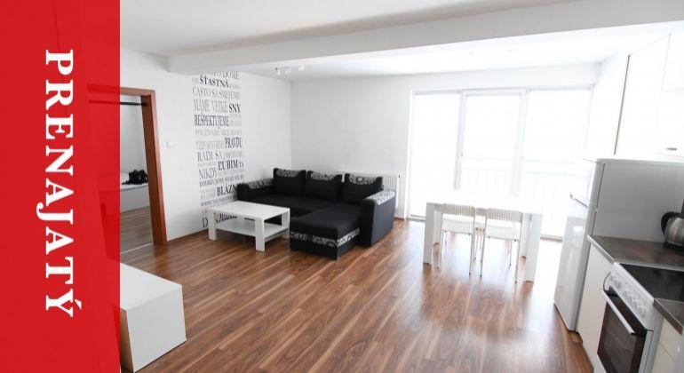 PRENAJATÝ: Moderný 2i byt s parkingom - úplne nový - zariadený - Žilina - centrum