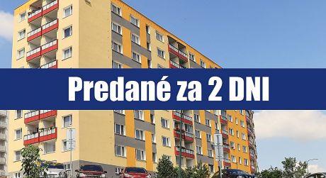 PREDANÉ ZA 2 DNI: 3 izbový priestranný byt môžete prerobiť na plnohodnotný 4 izbový byt: Bratislava - Karlova Ves - Nad lúčkami ...
