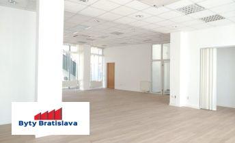 Bez provízie! RK Byty Bratislava ponuka na prenájom obchodný priestor v OD Slimák, Hálkova, BA III