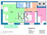 Novostavba 3 izb. bytu 2.2 v Trstiaciach s parkovaním na predaj
