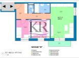 Novostavba 3 izb. bytu 2.3 v Trstiaciach s parkovaním na predaj