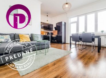 2i byt, 47 m2 – BA – Staré Mesto: moderne zrekonštruovaný, S ORIENTÁCIOU VŠETKÝCH OKIEN DO DVORA.