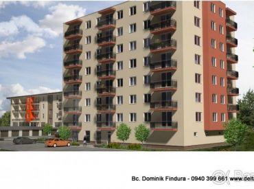 DELTA - POSLEDNÉ dva 3-izbové byty s balkónom v novostavbe na predaj Sp. Nová Ves - širšie centrum