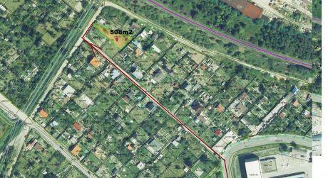Pekná záhrada na Žabom majeri je na predaj- 508m2