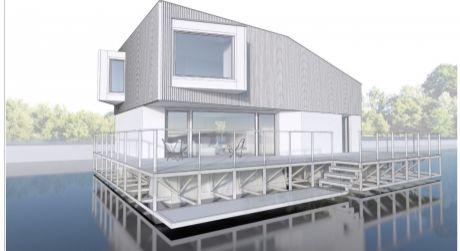Kúpte si pontón s miestom a postavte si dom na vode