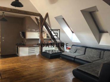 Predaj 4 izbový podkrovný byt Vajnorská pri Centrále, Bratislava