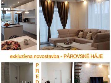 Exkluzívne predaj 5.izbovej novostavby v Párovských Hájoch s dvojgarážou