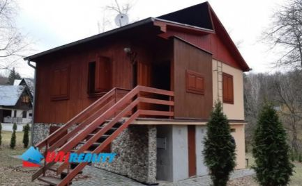 Okres TOPOĽČANY - DUCHONKA – zariadená pekná chata za SUPER CENU / pozemok 593 m2