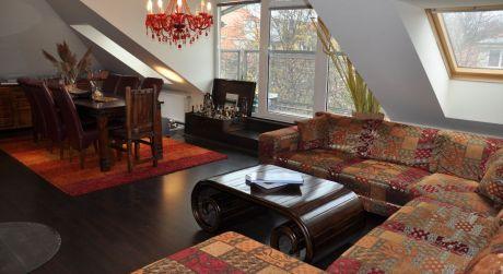 Predaj 3 izbového bytu v nadstavbe s garážou na Súťažnej ulici v širšom centre