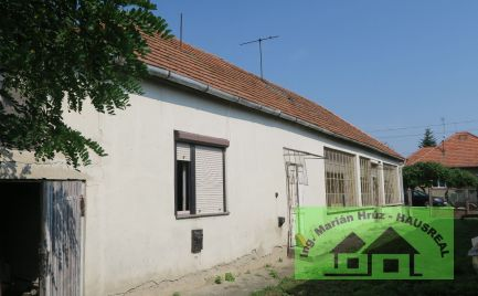 3-izbový RD vhodný na chalupu, alebo trvalé bývanie len 6 km od mesta Vráble