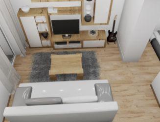 Na predaj 1 izbový byt P1N, v novom projekte