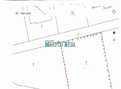 MAXFIN REAL na predaj 2 x pozemok na stavbu RD Malý Lapáš