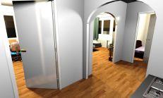3 izb byt | apartmán s Balkónom pod Vysokými Tatrami