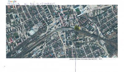 Stavebný pozemok vhodný pre komerciu a výrobu Trnava