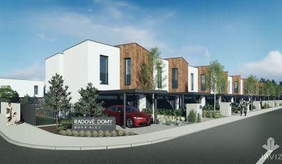 SORTier s.r.o. predaj nového projektu výstavby rodinných domov v Kostolišti.
