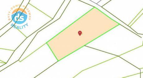 Iba u nás na predaj pozemok, 1200 m2, Beckov