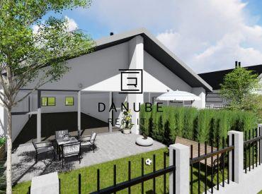 Predaj moderného rodinného domu v dvojdome v Cíferi, Trnava