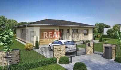 REALFINN PREDAJ - novostavba 4 izbového rodinného domu v Nových Zámkoch
