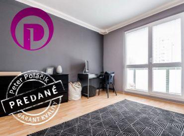REZERVOVANÉ - 3i byt, 78 m2 – BA – Nové Mesto: veľký byt, VÝBORNÁ DOSTUPNOSŤ DO CENTRA