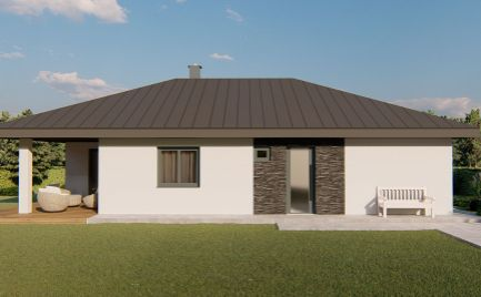 4izb bungalov na veľkom pozemku pri Nitre