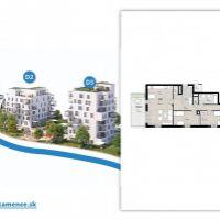 4 izbový byt, Kysucké Nové Mesto, 104.82 m², Novostavba