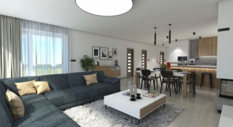 Na prenájom novostavba 4 izbového bungalovu, 713 m2, Trenčianska Turná