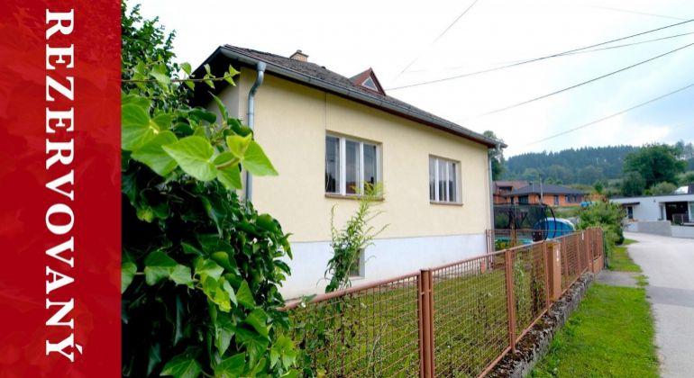 REZERVOVANÝ: Predaj RD Lietava | 290 m2 | čiast. rekonštrukcia | v centre obce