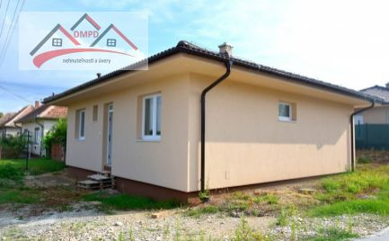 DMPD real  Vám ponúka na predaj  novostavbu rodinného domu v obci Hruboňovo okres Nitra.