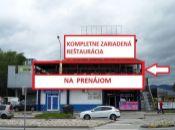 REALITY COMFORT - Na prenájom zariadená a plne vybavená reštaurácia v Prievidzi