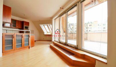 Dvojpodlažný, tehlový, 5 izbový byt,165m2,2xterasa,2xparking, predaj, Košce-Sídlisko KVP,Klimkovičova