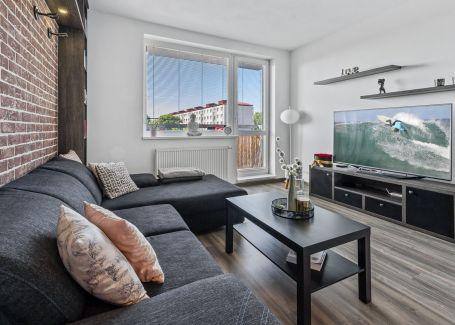 2 izbový byt s balkónom v Ružinove