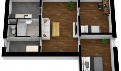 Na predaj 3 izbový byt Bratislava II Ružinov v blízkosti OC RETRO kúpou voľný