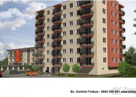 DELTA - POSLEDNÝ 3-izbový byt s balkónom v novostavbe na predaj Sp. Nová Ves - širšie centrum