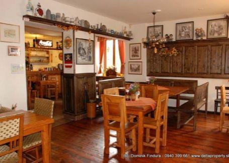 DELTA - Bavorská, kompletne zariadená reštaurácia s terasou na prenájom Kežmarok