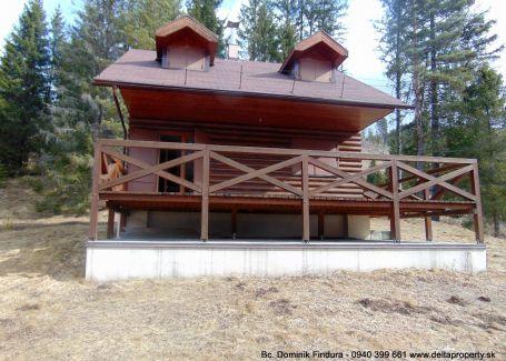 DELTA - Pekná chata na samote priamo v lese na predaj Lipt. Teplička - novostavba