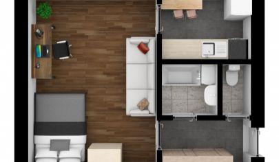 Na predaj krásny 1 izbový byt na ul. Banšelova BA Ružinov VÝBORNÁ INVESTÍCIA