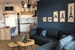 Pren ájom kompletne zariadeného 2-izb. luxusného bytu  + 1 vnútorné parkovacie státie v novo skolaudovanej novostavbe na Kadnárovej ul. v Bratislave – Rači