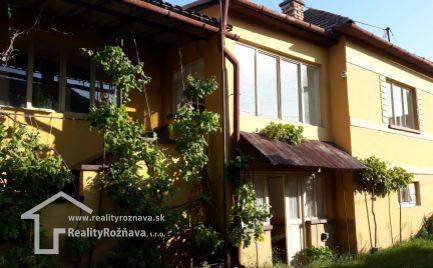 Rodinný dom v obci Bohúňovo.