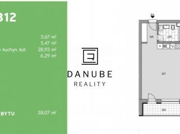 Predaj 1 izbový byt projekt Modranka, Trnava