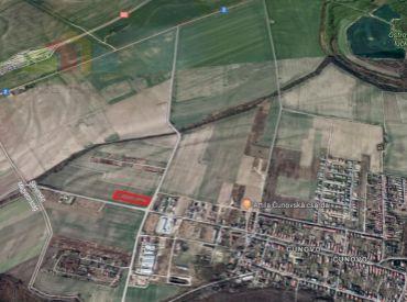 Na predaj pozemok 15.010 m², Schengenská ul., Bratislava-Čuňovo