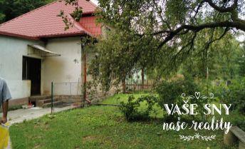 Na predaj RODINNÝ DOM v obci Zubák, 1502 m2 pozemok