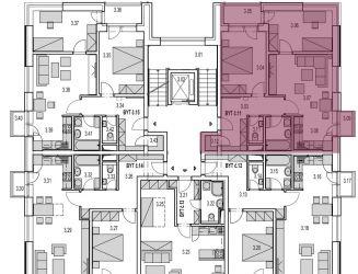 Na predaj 3 izbový byt (M11) v novostavbe Byty MAXIM - Martin - Podháj,