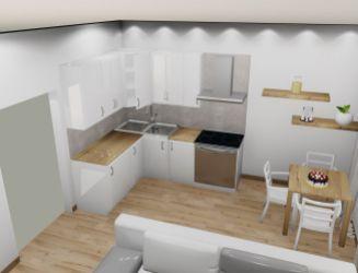 Na predaj 1 izbový byt P_A, v novom projekte