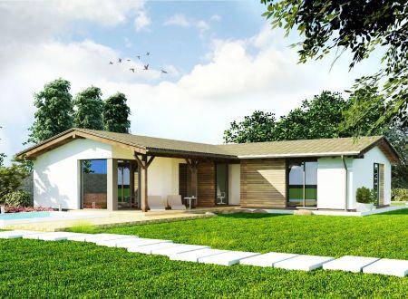 Stavebný pozemok 903 m2, všetky IS v obci Ivanovce / 76 € za 1m2