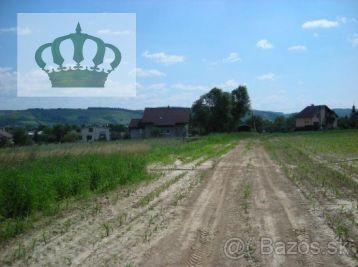 Stavebné pozemky v Kračúnovciach iba 1km od Giraltoviec.