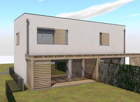 Nový 3 izbový rodinný dom P1-B1-H / Sokolovce