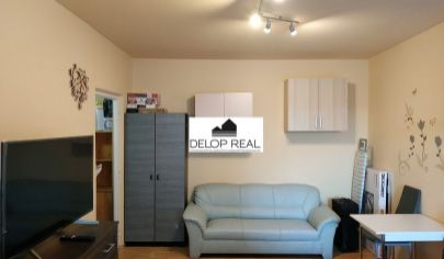 Zrekonštruovaný a zariadený 1 izbový byt s loggiou v Dúbravke